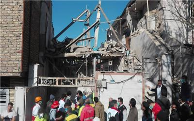حادثه انفجار منزل مسکونی در کوی آبشار خرم آباد
