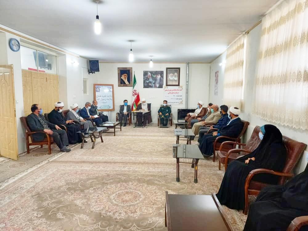 جلسه برنامه ریزی، گرامی داشت نیمه شعبان در دفتر امام جمعه شهرستان کوهدشت برگزارشد.
