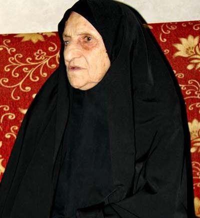 مادر خبرنگار شهید محمود صارمی ، آسمانی شد