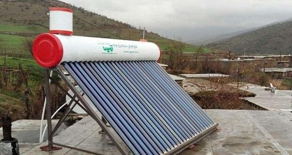 مدیرکل منابع طبیعی وآبخیزداری استان لرستان/۵۱دستگاه آبگرمکن خورشیدی در روستاهای لرستان توزیع شد: