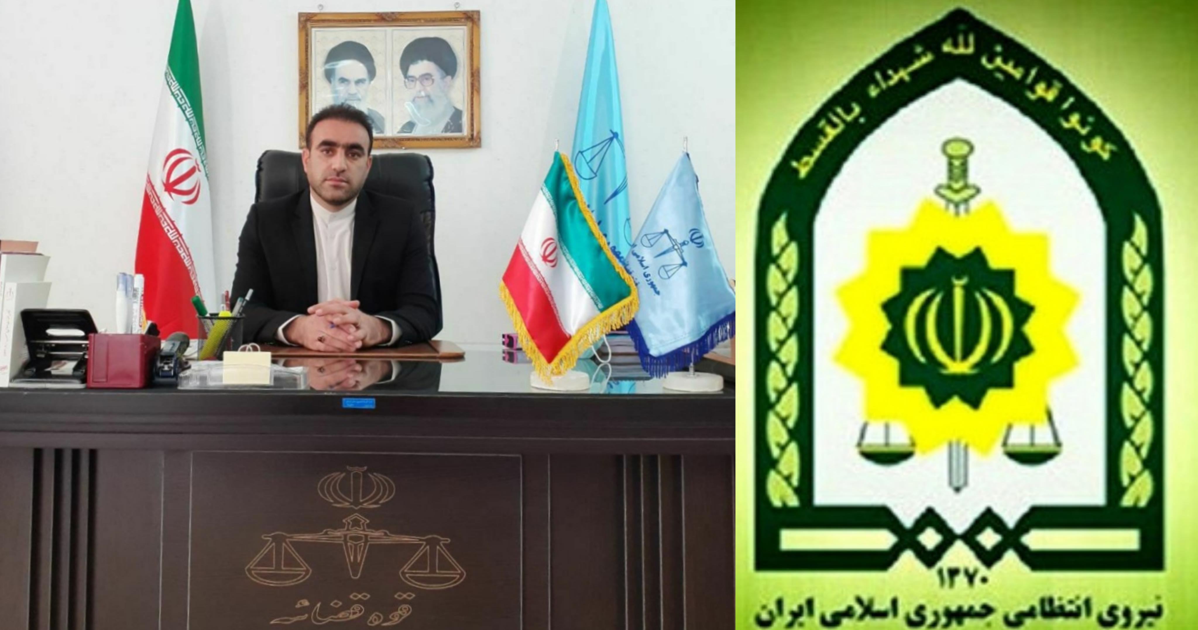 دستور دادستان شهرستان کوهدشت به نیروی انتظامی جهت پلمپ و جمع آوری قلیان سراها: