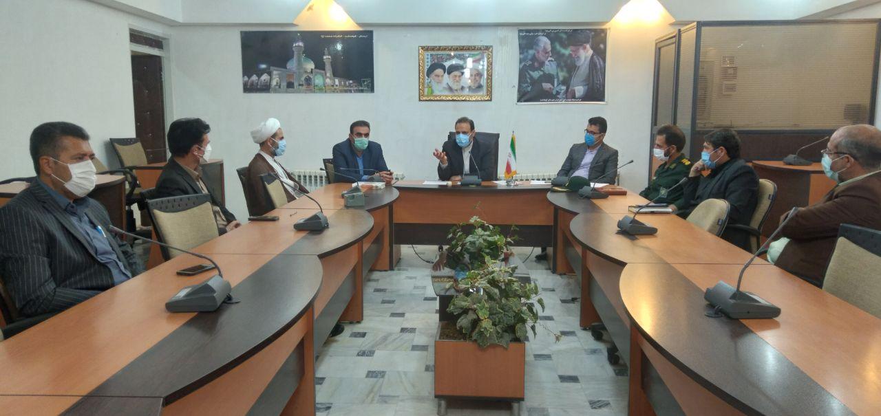 جلسه ستاد کرونا در شهرستان کوهدشت برگزارشد: