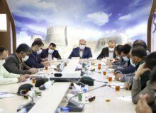 اولین جلسه ستاد استانی پیشگیری و رسیدگی به تخلفات و جرایم انتخاباتی در دادگستری استان لرستان برگزارشد