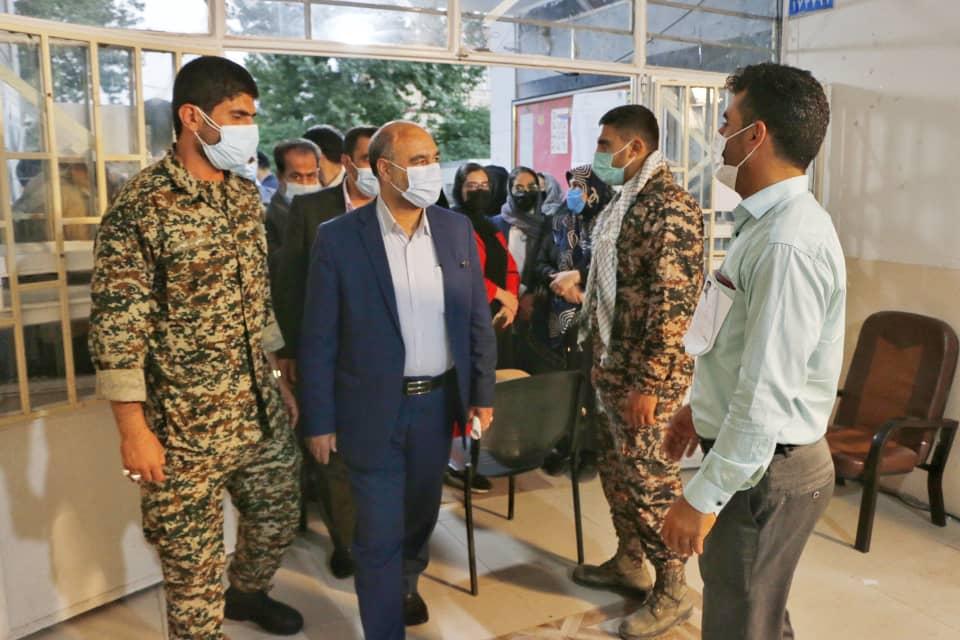 بازدید رئیس کل دادگستری استان لرستان بهمراه هیئت همراه از شعب اخذ رای در سطح شهر خرم آباد