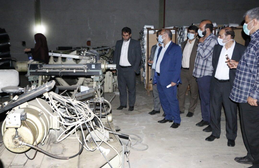 به مناسبت هفته قوه قضاییه رئیس کل دادگستری استان لرستان از شرکت پارسیلون خرم آباد بازدید کرد