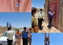 قطع برق و پلمپ چاه صنعتی با کاربری غیر مجاز در شهرستان کوهدشت