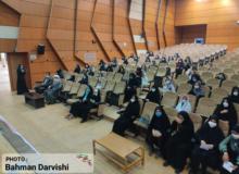 مراسم روز دختر و گفتمان انتخاباتی رای اولی ها درشهرستان کوهدشت برگزارشد