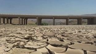 برخی از رودخانه های استان لرستان خشک شدن