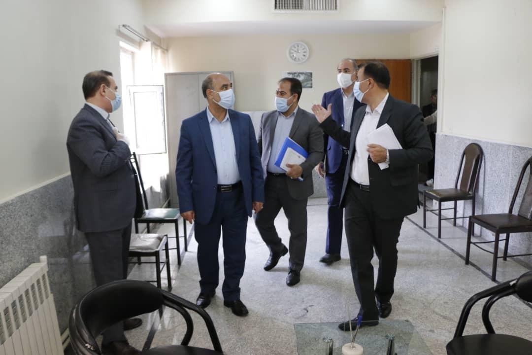 رئیس کل دادگستری استان لرستان از حوزه قضایی شهرستان الیگودرزبازدید کرد