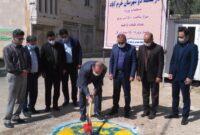 پروژه ساختمان اداره گاز ناحیه دو شهرستان خرم آباد کلنگ زنی شد