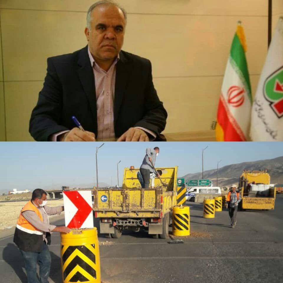 ورودی های   استان لرستان مسدود شد