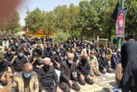گزارش تصویری:اقامه نماز ظهر عاشورا ۱۴۰۰ در کوهدشت