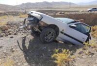 تصادف در محور کوهدشت زانوگه یک زخمی برجای گذاشت