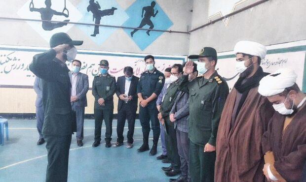 فرمانده حوزه مقاومت بسیج حضرت رسول(ص)طرهان معارفه شد