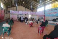 روند پرسرعت واکسیناسیون کرونا در پایگاه شهیدسلیمانی کوهدشت وبرای خدمت رسانی به مردم تعطیلی نداریم