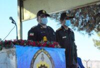 گزارش ؛ در نخستین روز از هفته نیروی انتظامی؛ صبحگاه مشترک نیروهای نظامی و انتظامی شهرستان کوهدشت
